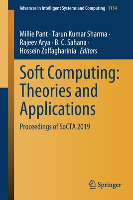 Soft Computing: Theories and Applications: Proceedings of Socta 2019-cover