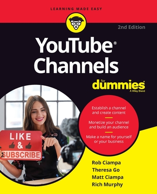 Youtube Channels for Dummies-cover