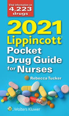 2021 Lippincott Pocket Drug Guide for Nurses-cover