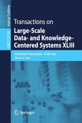 Transactions on Large-Scale Data- And Knowledge-Centered Systems XLIII-cover