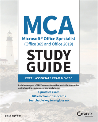 MCA Microsoft Office Specialist (Office 365 and Office 2019) Study Guide: Excel Associate Exam Mo-200-cover