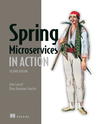 Spring Microservices in Action, Second Edition-cover