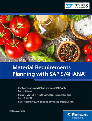 Material Requirements Planning with SAP S/4hana-cover