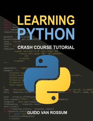 Learning Python: Crash Course Tutorial-cover