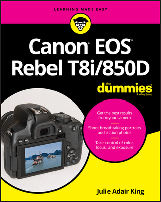 Canon EOS Rebel T8i/850d for Dummies-cover