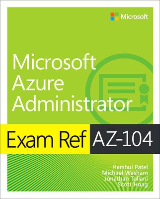 Exam Ref Az-104 Microsoft Azure Administrator-cover