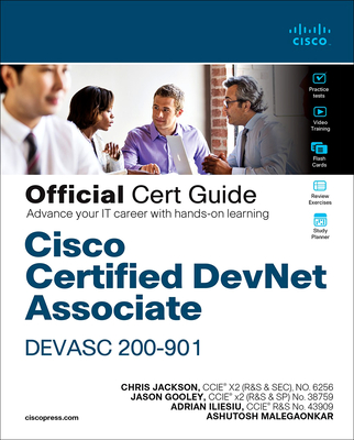 Cisco Certified Devnet Associate Devasc 200-901 Official Cert Guide-cover