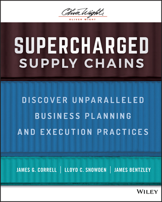 Supercharged Supply Chains: Discover Unparalleled Business Planning and Execution Practices-cover