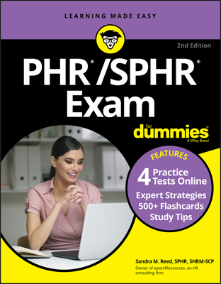 Phr/Sphr Exam for Dummies with Online Practice-cover