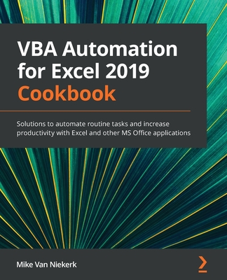 VBA Programming Cookbook for Microsoft Office 2019-cover