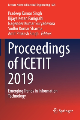 Proceedings of Icetit 2019: Emerging Trends in Information Technology-cover