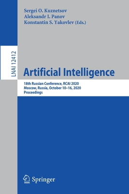 Artificial Intelligence: 18th Russian Conference, Rcai 2020, Moscow, Russia, October 10-16, 2020, Proceedings-cover