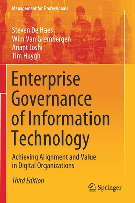 Enterprise Governance of Information Technology: Achieving Alignment and Value in Digital Organizations-cover