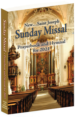 St. Joseph Sunday Missal and Hymnal for 2021 (American)-cover