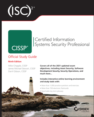 (ISC)2 CISSP Certified Information Systems Security Professional Official Study Guide, 9/e (Paperback)-cover
