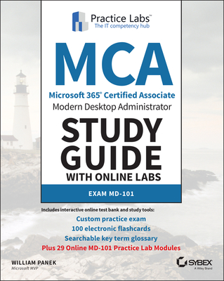 MCA Modern Desktop Study Guide with Online Labs: MD-101-cover