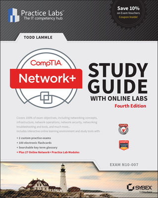Comptia Network+ Study Guide with Online Labs: N10-007 Exam-cover