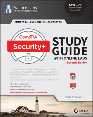 Comptia Security+ Study Guide Exam Sy0-501 & Online Lab Card Bundle-cover