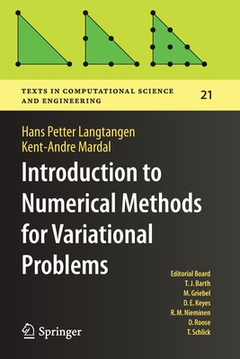 Introduction to Numerical Methods for Variational Problems