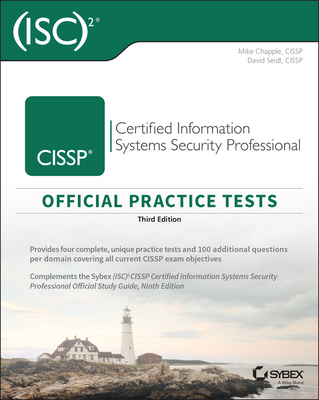 (ISC)2 CISSP Certified Information Systems Security Professional Official Practice Tests, 3/e (Paperback)-cover