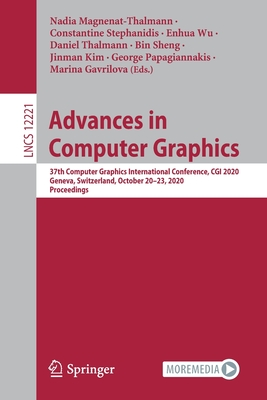 Advances in Computer Graphics: 37th Computer Graphics International Conference, CGI 2020, Geneva, Switzerland, October 20-23, 2020, Proceedings-cover