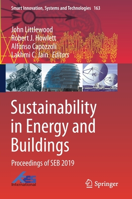 Sustainability in Energy and Buildings: Proceedings of Seb 2019-cover