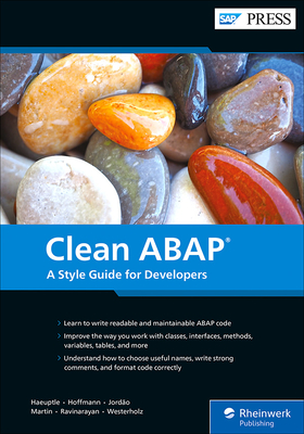 Clean ABAP: A Style Guide for Developers-cover