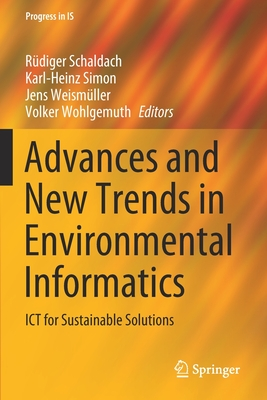 Advances and New Trends in Environmental Informatics: Ict for Sustainable Solutions-cover