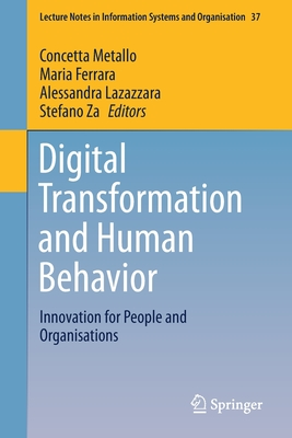 Digital Transformation and Human Behavior: Innovation for People and Organisations-cover