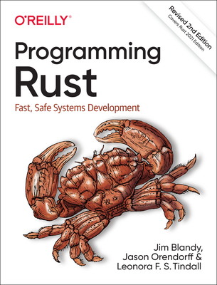 Programming Rust: Fast, Safe Systems Development, 2/e (Paperback)-cover