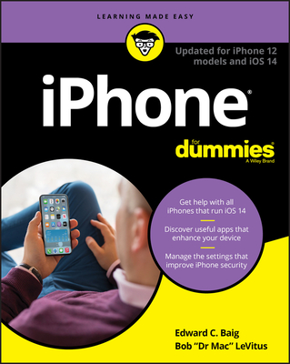 iPhone for Dummies: Updated for iPhone 12 Models and IOS 14-cover