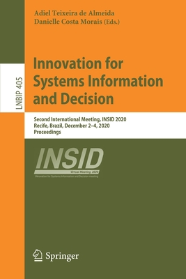 Innovation for Systems Information and Decision: Second International Meeting, Insid 2020, Recife, Brazil, December 2-4, 2020, Proceedings-cover
