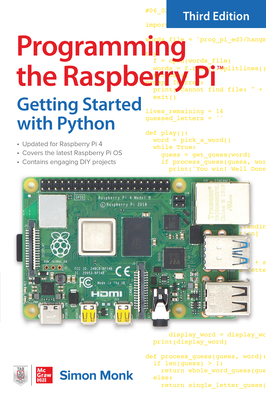 Programming the Raspberry Pi, Third Edition: Getting Started with Python-cover