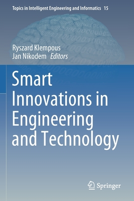Smart Innovations in Engineering and Technology-cover