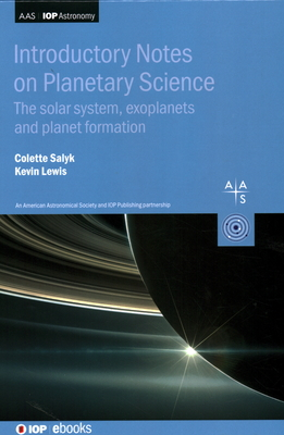 Introductory Notes on Planetary Science: The Solar System, Exoplanets and Planet Formation-cover