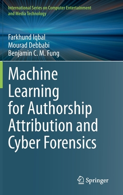 Machine Learning for Authorship Attribution and Cyber Forensics-cover