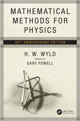 Mathematical Methods for Physics: 45th anniversary edition-cover