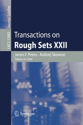 Transactions on Rough Sets XXII-cover