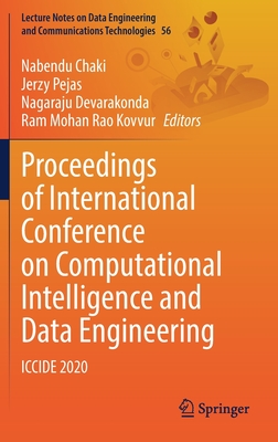 Proceedings of International Conference on Computational Intelligence and Data Engineering: Iccide 2020