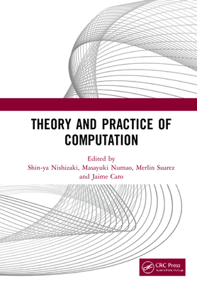 Theory and Practice of Computation: Proceedings of the Workshop on Computation: Theory and Practice (WCTP 2019), September 26-27, 2019, Manila, The Ph-cover