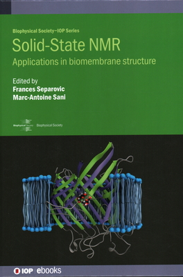 Solid-State NMR: Applications in biomembrane structure-cover