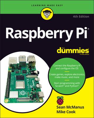 Raspberry Pi For Dummies, 4/e (Paperback)-cover
