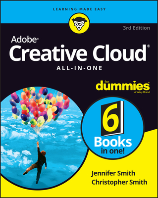 Adobe Creative Cloud All-in-One For Dummies 3rd -cover