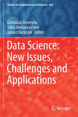 Data Science: New Issues, Challenges and Applications-cover