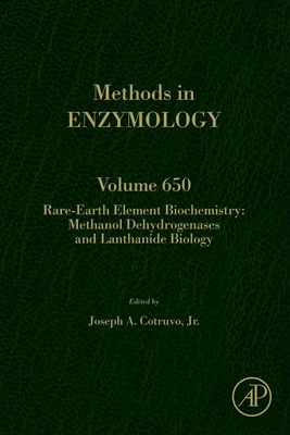 Rare-Earth Element Biochemistry: Methanol Dehydrogenases and Lanthanide Biology, 650-cover