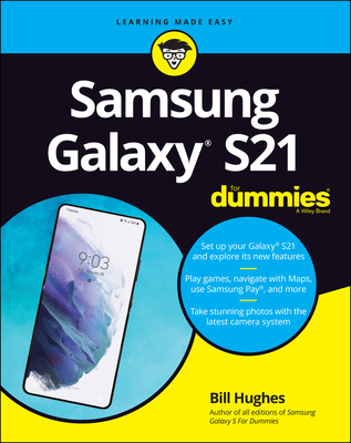 Samsung Galaxy S21 for Dummies-cover