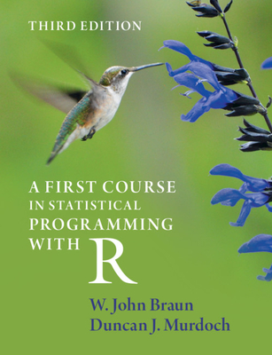 A First Course in Statistical Programming with R-cover