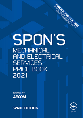 Spon's Mechanical and Electrical Services Price Book 2021-cover