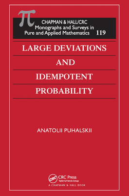 Large Deviations and Idempotent Probability-cover