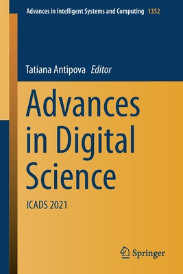 Advances in Digital Science: Icads 2021-cover